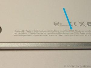 apple-magic-trackpad-a1339-model-no