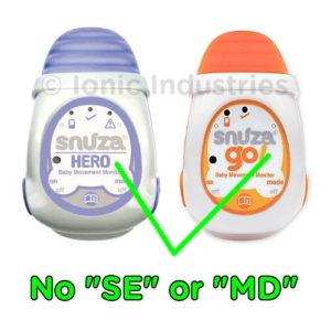 Snuza Hero/Halo/Go Original no SE or MD