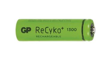Green ReCyko 1300 version of GP 130AAHC batteries for BT Baby Monitors