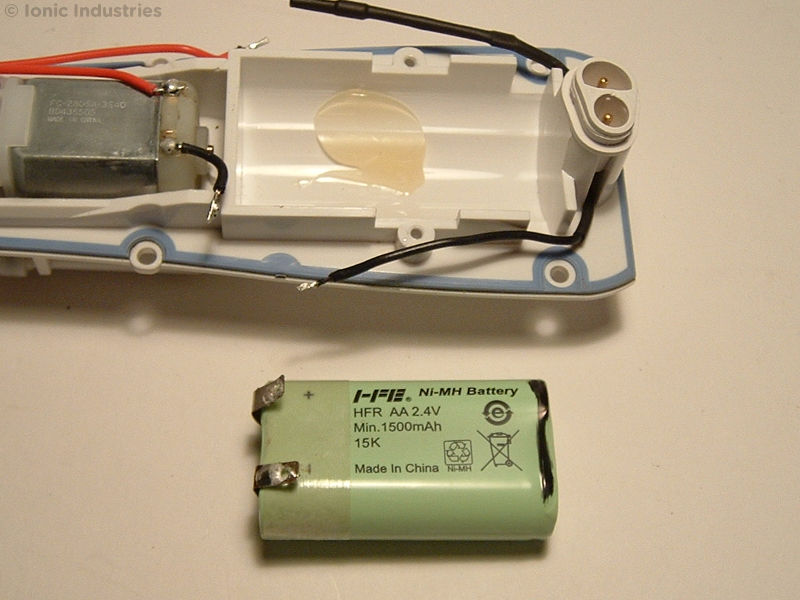 Waterpik WP-450 Battery Replacement Guide - Ionic Industries