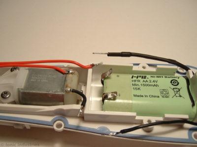 waterpik-wp-450-desolder-positive-battery-wires