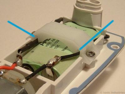 waterpik-wp-450-flosser-battery-charging-wires