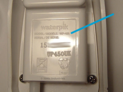 Waterpik WP-450 flosser model number