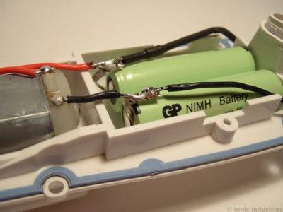 waterpik-wp-450-flosser-new-battery-soldered
