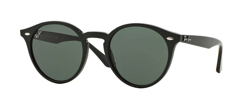 Details of the black sunglasses worn in The Mallorca Files