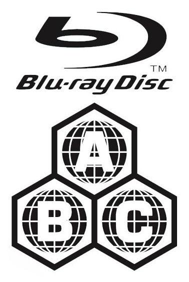 Blu-ray Multi-Region Zone A B C
